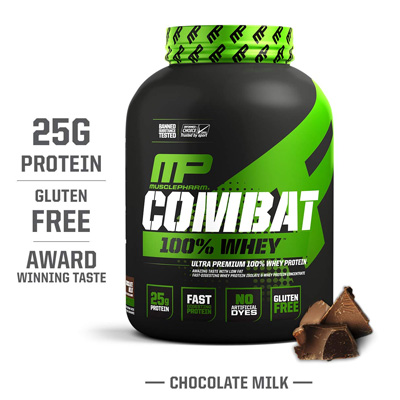 MusclePharm Combat 100% Whey Protein – 5lbs