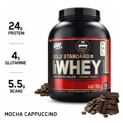 ON Gold Standard 100% Whey Protein 5lbs – Supplement superstore India, Meerut, UP