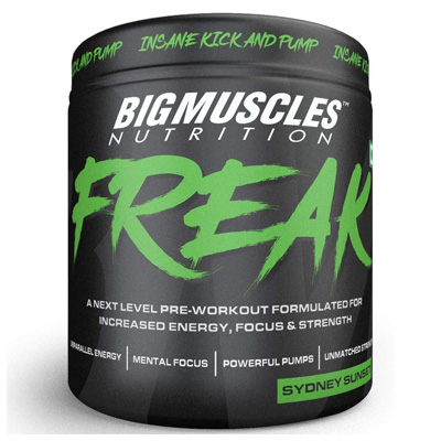 Big Muscles Freak 30 Servings – Supplement superstore India, Meerut, UP