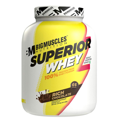 Big Muscles Superior Whey 4.4lbs – Supplement superstore India, Meerut, UP