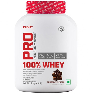 GNC Pro Performance 100% Whey 4.4lbs – Supplement superstore India, Meerut, UP