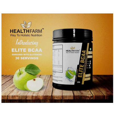 Healthfarm BCAA 33 Servings – Supplement superstore India, Meerut, UP