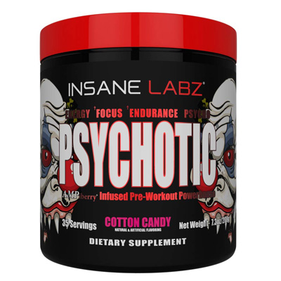 Insane Labs Psycotic 35 servings – Supplement superstore India, Meerut, UP