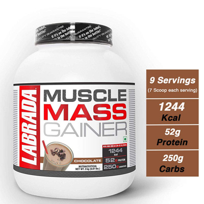 Labrada Muscle Mass Gainer 6.6lbs – Supplement superstore India, Meerut, UP