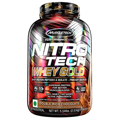 Muscletech Nitrotech Whey Gold 5.5lbs – Supplement superstore India, Meerut, UP