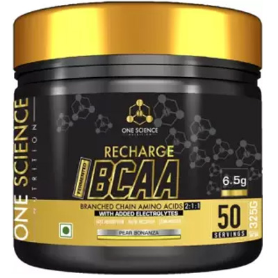 One Science Recharge BCAA 50 Servings - Supplement superstore India.