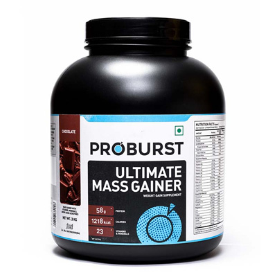 Proburst Ultimate Mass Gainer 3Kg – Supplement superstore India, Meerut, UP